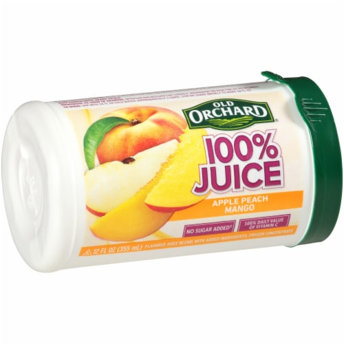 Old Orchard Apple Passion Mango Juice Concentrate Perspective: left