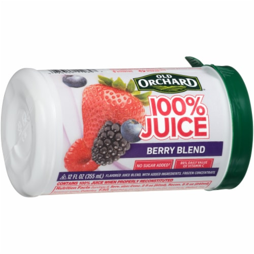 Old Orchard Berry Blend Juice Concentrate Perspective: left