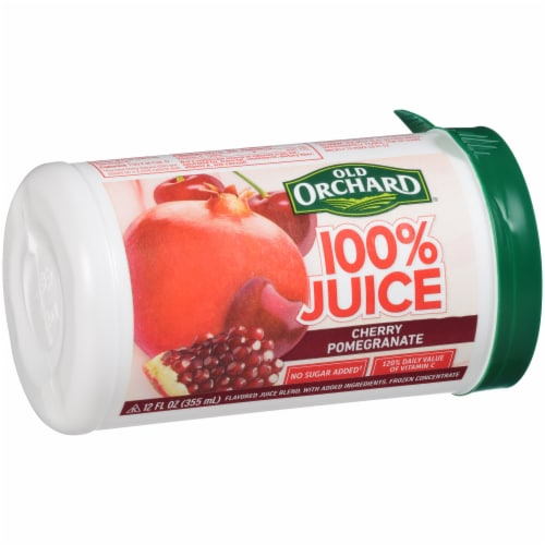 Old Orchard Cherry Pomegranate Juice Concentrate Perspective: left