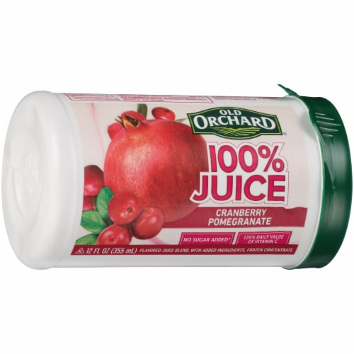 Old Orchard 100% Cranberry Pomegranate Flavored Juice Blend Perspective: left