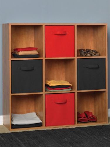ClosetMaid Cubeicals Fabric Storage Bin - Black Perspective: left