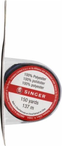 SINGER All-Purpose Polyester Thread - Blue Perspective: left