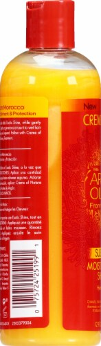 Creme of Nature with Argan Oil From Morocco Moisture & Shine Shampoo Perspective: left