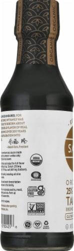 San-J Organic Reduced Sodium Tamari Soy Sauce Perspective: left