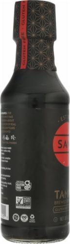 San-J Naturally Brewed Premium Soy Sauce Tamari Perspective: left