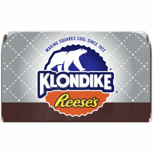 Klondike Reese's Peanut Butter Cup Ice Cream Bars Perspective: left