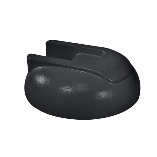 Comfort Zone Clip/Desk Combo Fan - Black Perspective: left