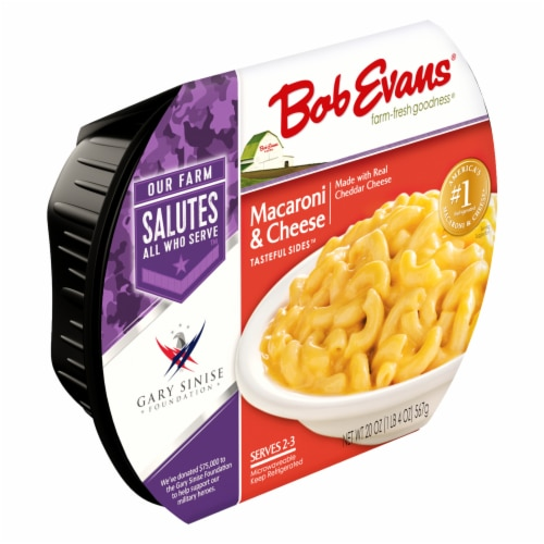 Bob Evans Tasteful Sides Macaroni & Cheese Side Dish Perspective: left