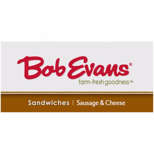 Bob Evans Farm-Fresh Goodness Sausage & Cheese Sandwiches Perspective: left
