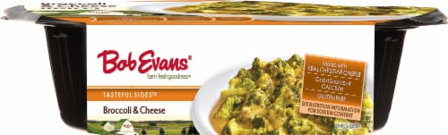 Bob Evans Tasteful Sides Brocolli & Cheese Dish Perspective: left