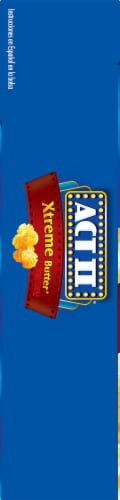 Act II Xtreme Butter Popcorn Perspective: left