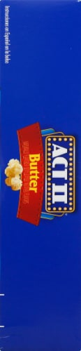 Act II Butter Microwave Popcorn Perspective: left