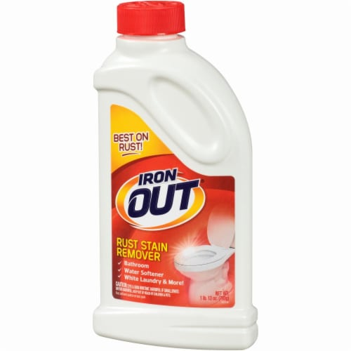 Iron Out® Rust Stain Remover Perspective: left