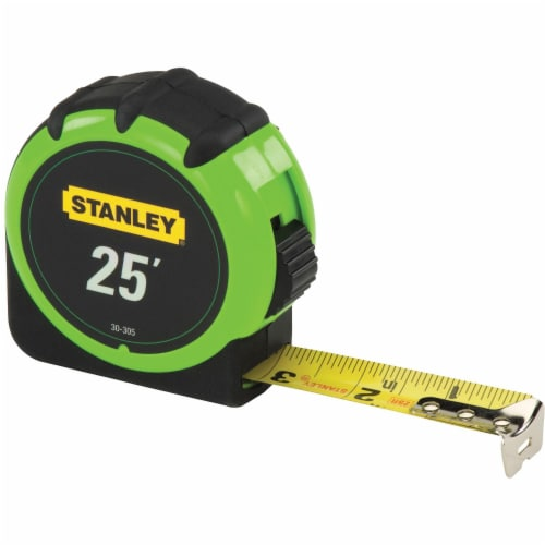 Stanley® Hi-Visibility™ 25-Foot Tape Measure Perspective: left