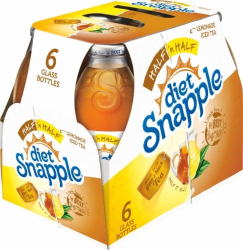 Diet Snapple Half 'N Half Iced Tea & Lemonade Drink Perspective: left