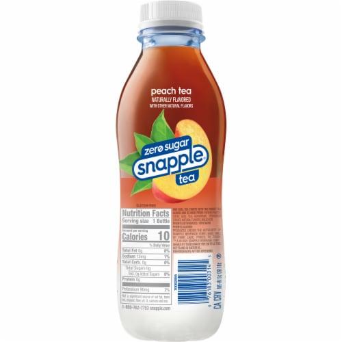 Diet Snapple® Peach Iced Tea Perspective: left