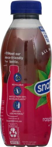 Snapple Raspberry Iced Tea Drink Perspective: left