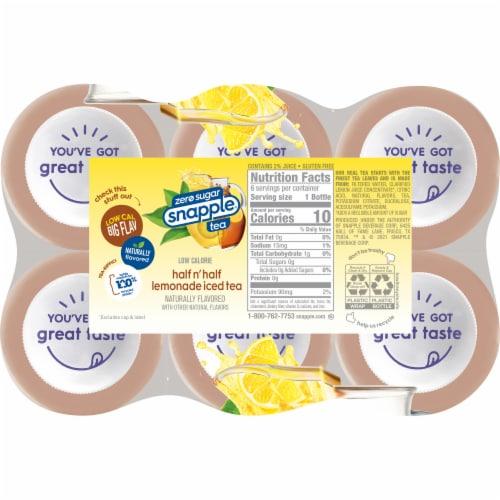 Diet Snapple® Half 'n Half Lemonade Iced Tea Perspective: left