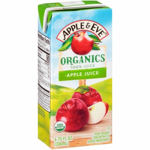 Apple & Eve 100% Organic Apple Juice Boxes Perspective: left