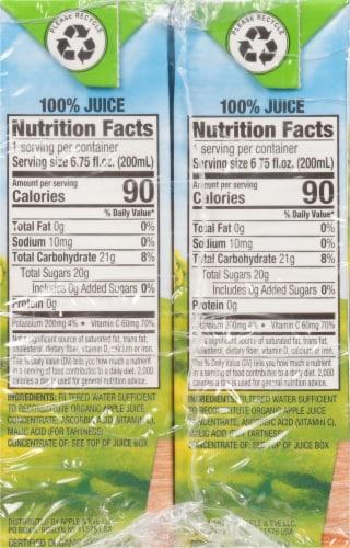 Apple & Eve Organic Apple Juice Perspective: left