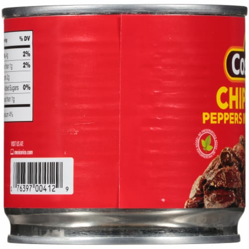 La Costena Chipotle Peppers in Adobo Sauce Perspective: left