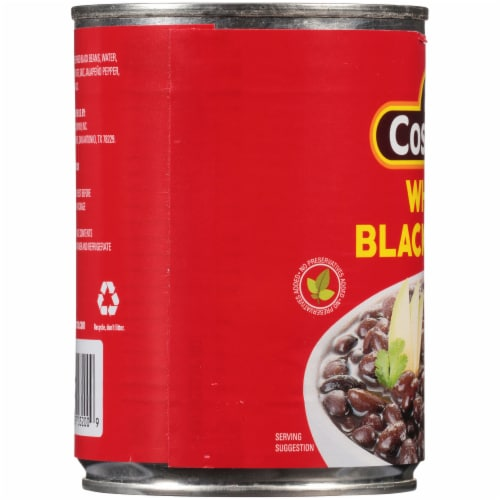 La Costena Whole Black Beans Perspective: left