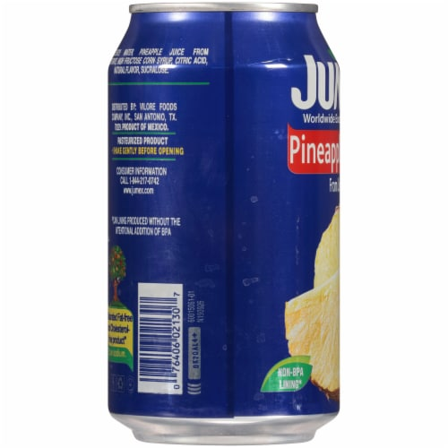 Jumex Pineapple Nectar Juice Perspective: left