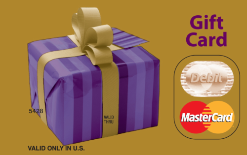 Mastercard $20-$500 Gift Card ($5.95 activation fee) Perspective: left