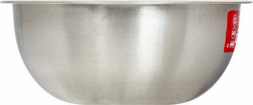 GoodCook® Touch Stainless Steel Mixing Bowl - Silver Perspective: left