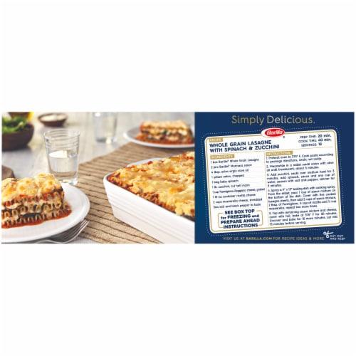 Barilla Whole Grain Lasagne Pasta Perspective: left