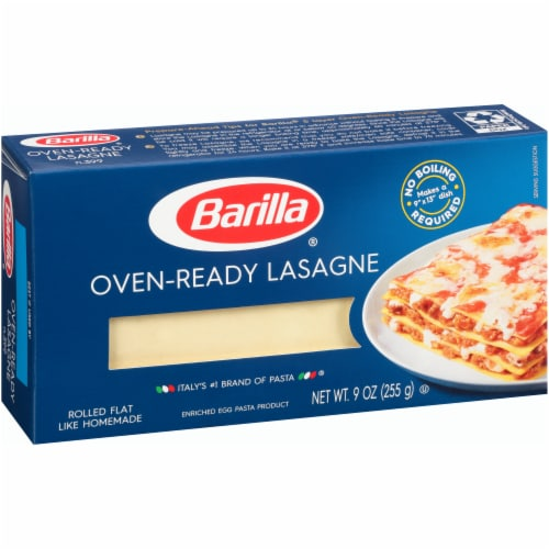 Barilla Oven-Ready Lasagne Perspective: left