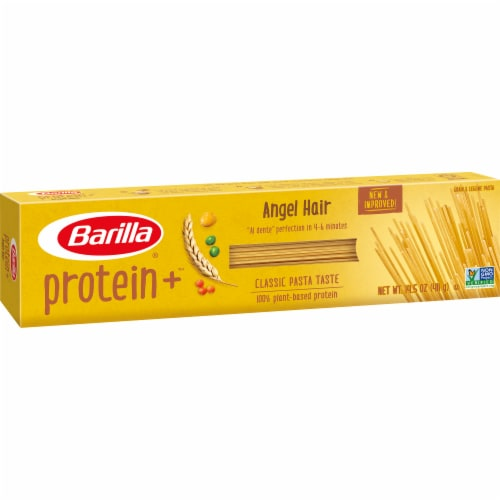 Barilla Protein Plus Angel Hair Multigrain Pasta Perspective: left