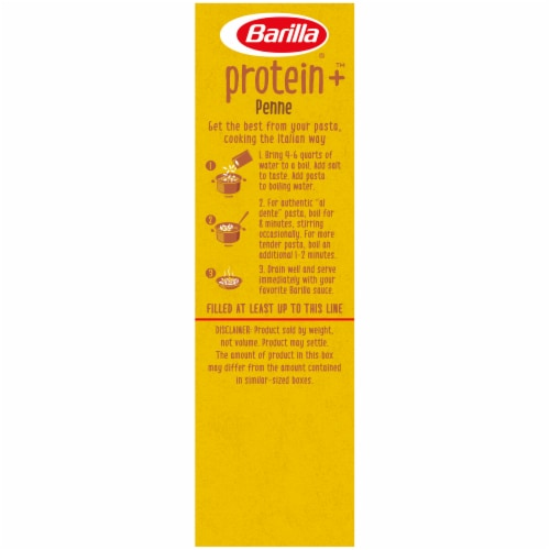 Barilla Protein+ Penne Pasta Perspective: left
