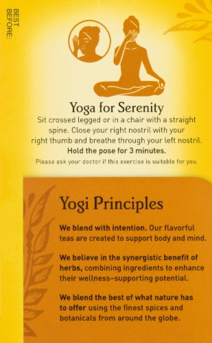 Yogi Bedtime Soothing Caramel Tea Bags Perspective: left