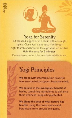 Yogi Bedtime Soothing Caramel Tea Bags Perspective: left