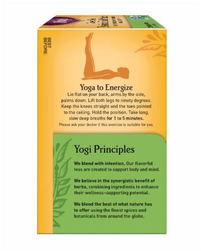 Yogi Passion Fruit Matcha Green Tea Bags Perspective: left