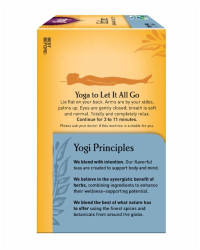 Yogi Bedtime Caffeine Free Tea Bags Perspective: left