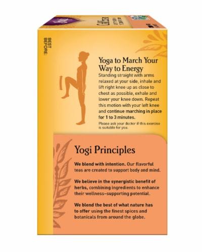 Yogi Cold Season Caffeine Free Tea Bags Perspective: left