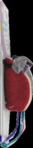 Spot Colored Burlap Mice Cat Toys Perspective: left