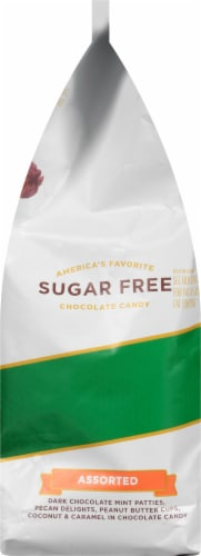 Russell Stover Sugar Free Assorted Chocolates Perspective: left