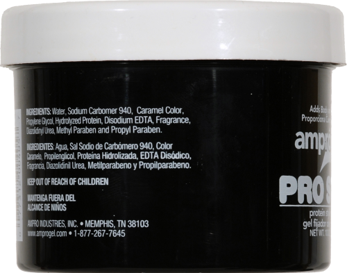 Ampro Pro Styl Regular Hold Protein Styling Gel Perspective: left