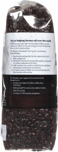 San Francisco Bay French Roast Whole Bean Coffee Perspective: left