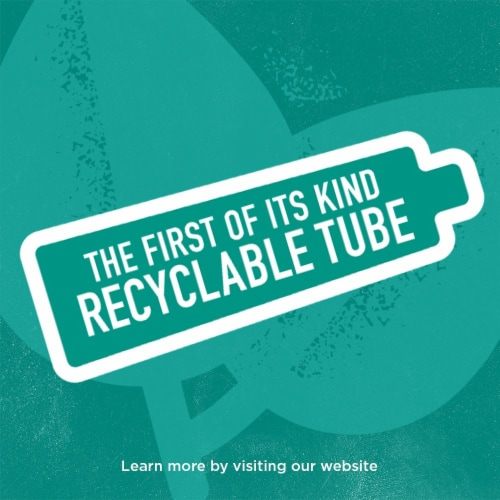 Tom's of Maine Clean Mint Luminous White Toothpaste with Fluoride Perspective: left