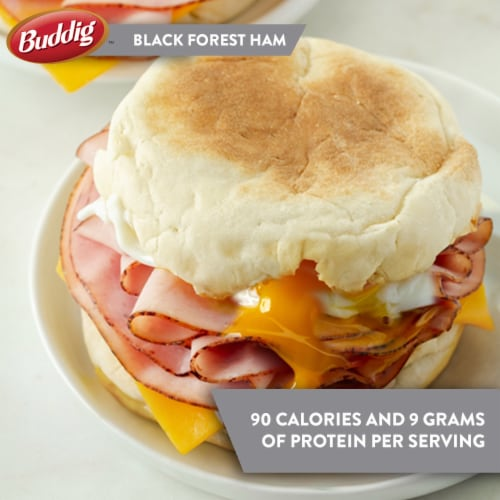 Buddig™ Black Forest Ham Lunchmeat Tub Perspective: left