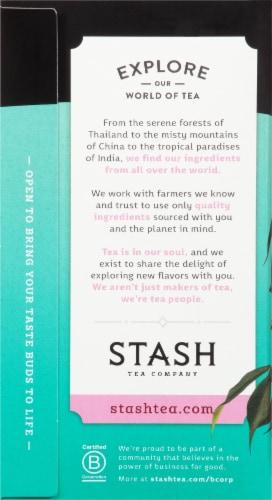 Stash Jasmine Blossom Green Tea Bags 20 Count Perspective: left