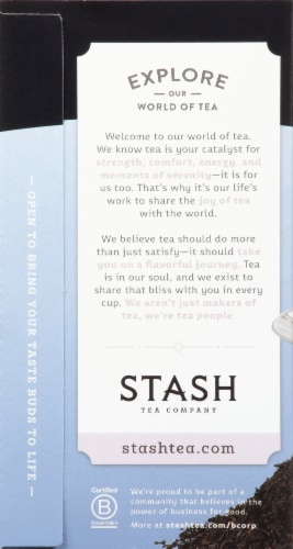 Stash Earl Grey Black Tea Perspective: left