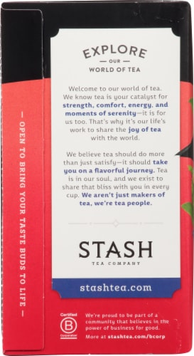 Stash English Breakfast Black Tea Perspective: left