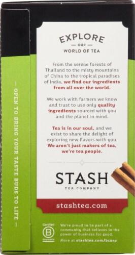 Stash Chai Green Tea Perspective: left