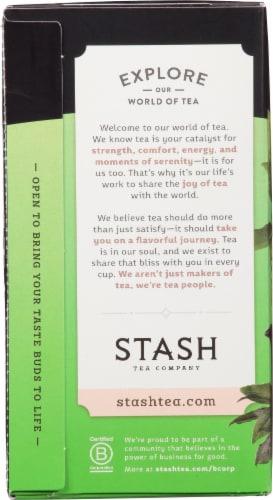 Stash Decaf Premium Green Tea Perspective: left