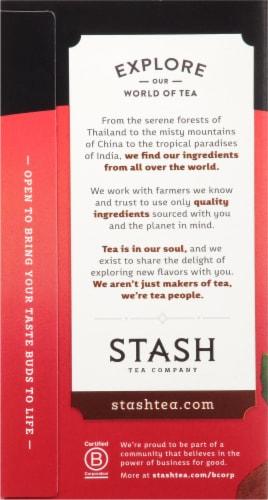 Stash Double Spice Chai Black Tea Bags Perspective: left